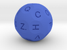 D26 Alphabetical Sphere Dice for Impact! Miniature 3d printed