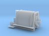 HO scale Horizontal Drum Transit Mixer 3d printed