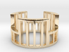 Cage Ring Size 10.5 3d printed
