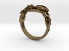 Mech Heart Ring 3d printed
