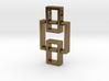 Pendant - Interlocking Geometry 3d printed