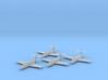 Grumman F9F-2 'Panther' 1:200 x4 FUD 3d printed