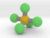 Phosphorus Pentachloride (PCl5) 3d printed
