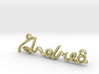 ANDREA Script First Name Pendant 3d printed