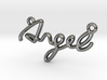 ANGEL Script First Name Pendant 3d printed