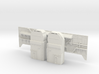 Shuttle MLP Side 1 and Serv Masts 1:72 3d printed