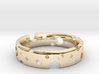 Swiss Cheese Ring 3d printed