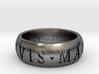 Sir Francis Drake Ring 3d printed