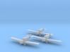 Junkers F.13 (wheels) 1:200 x3 FUD 3d printed