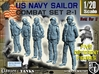 1-20 US Navy Sailors Combat SET 2-1 3d printed