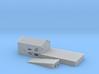 Loading Dock Z Scale 3d printed loading dock z scale