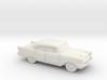 1/87 1957 Chevrolet BelAir Sedan 3d printed