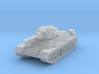 1/144 scale  T-34 tank 3d printed