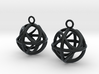 Ball earrings 3d printed