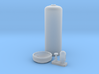 Acetylene Cylinder 1/24 scale 3d printed