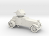 White Armoured Car (15mm) 3d printed