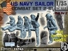 1-35 US Navy Sailors Combat SET 2-61 3d printed