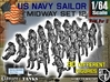 1-64 US Navy MIDWAY Set 12 3d printed