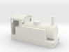 009 Narrow Gauge Locomotive Bodyshell 3d printed -