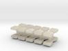 15mm Futuristic Hardshell Rucksacks (20pcs) 3d printed