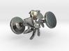 Turbine Cufflinks 3d printed