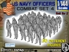 1-144 USN Officers KAPOK Set4 3d printed