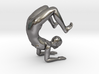 Yoga Scorpion Pose Phone Stand - 1.5mm Thickness 3d printed