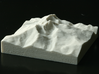 3'' Longs Peak, Colorado, USA, Sandstone 3d printed Photo of actual model