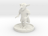 Goblin with dagger 3d printed