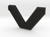 """SVO Decklid Emblem """"V"""" - Large 3d printed"""