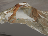 South Sister, Oregon, USA, 1:15000 3d printed
