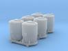 SET 3x Dzkr 501 Behälter (TT 1:120) 3d printed