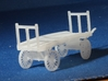 Baggage Cart Kit S Scale Two Pack 3d printed