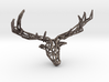 Untamed: The Deer Pendant 3d printed