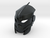 Custom Kanohi Mahiki 3d printed BEWARE: This material uses support structures which can obstruct details or vital parts.
