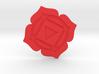 Root Chakra Token 3d printed