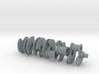 [W12 1:5 Scale Engine] Crankshaft 3d printed
