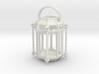 Lantern Octagon Oriental Medival Ironwork: Miniat 3d printed