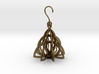 Celtic Knot Pyramid Earring 3d printed