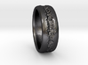 Scar Ring 3d printed