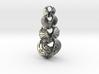 Hyperbole Chain Pendant 3d printed