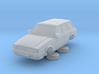 Ford Escort Mk3 1-76 4 Door Standard Estate 3d printed