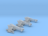 3-Pack Vaksai Fighter Variant 1A 1/270 3d printed