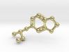 MDMA Molecule Keychain Necklace 3d printed