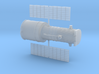 012L Hubble Partially Deployed - 1/200 3d printed