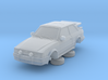Ford Escort Mk4 1-87 2 Door Rs Turbo Wale Tail Hol 3d printed