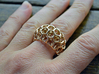 Voronoi Cell Ring  (Size 60) 3d printed
