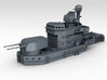 1/600 HMS Ajax HACS MKIII And Director 2 parts 3d printed 3d Render showing with bridge set