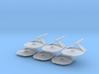 1/7000 Destroyer Larson v2 - 06 ships pack 3d printed