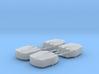 1/350 RN Triple 6 Inch MKXXIII Turrets (4) 3d printed 1/350 RN Triple 6 Inch MKXXIII Turrets (4)